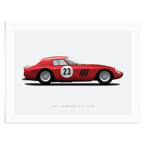 1962 Ferrari 250 GTO in Red