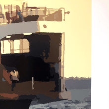 Load image into Gallery viewer, Morning Ferry Run Limited Edition Print