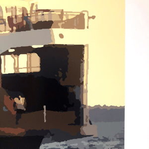 Morning Ferry Run Limited Edition Print