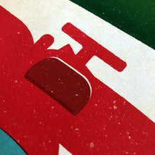 Load image into Gallery viewer, Italian GP Formula 1 at Monza Inspired Graphic Poster