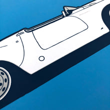 Load image into Gallery viewer, 1960 Porsche 550A Spyder on French Blue
