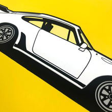 Load image into Gallery viewer, 1978 Porsche 930 Turbo on Talibot Yellow