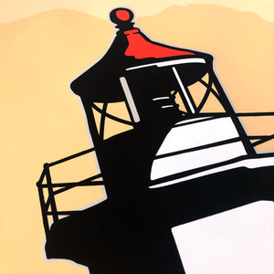 Point Robinson Lighthouse Illustrated Poster