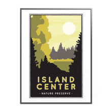 Load image into Gallery viewer, Center Island Nature Preserve Illustrated Poster