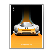 Load image into Gallery viewer, 1968 Porsche 908 Works Short-Tail in Orange and White