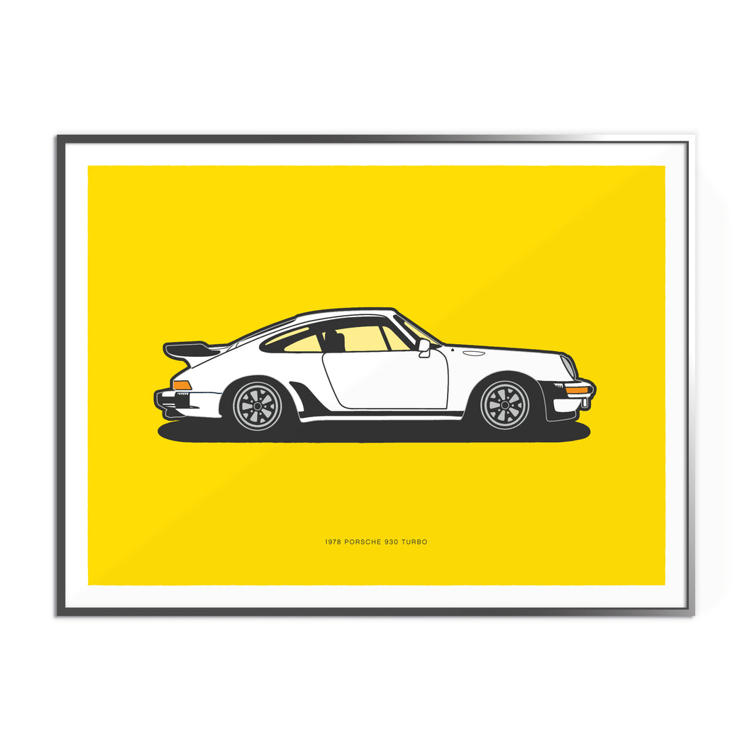1978 Porsche 930 Turbo on Talibot Yellow