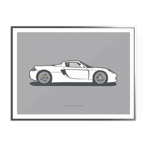 2003 Porsche 980 Carrera GT on GT Silver