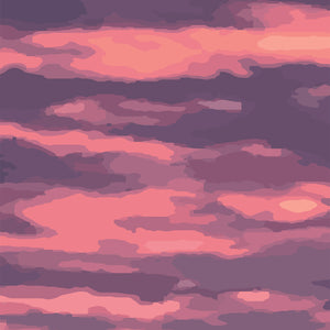 Purple Clouds Limited Edition Print