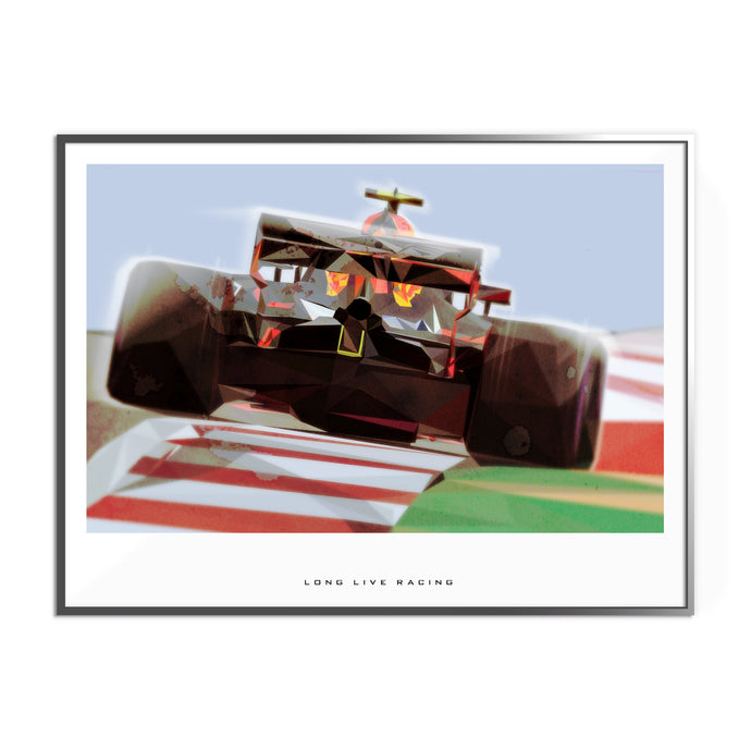 Long Live Racing Formula 1 Inspired Graphic Poster 3