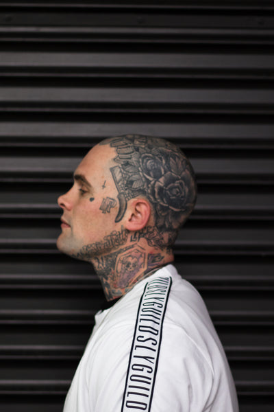 Louie Knuxx | Head neck tattoo NZ