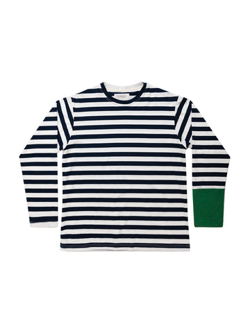 Navy Ivy Stripe Long Sleeve