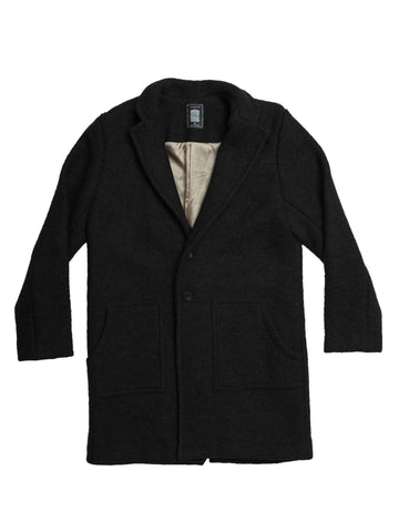 Men's Black Winter Coat