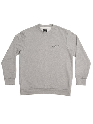 Grey Signature Crew Neck