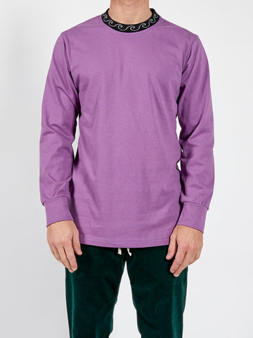 Sly Guild Purple Basic Wave Longsleeve Tee