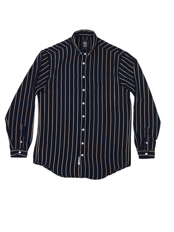 Vertical Stripe Longsleeve Union Shirt