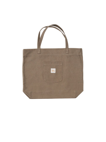 Washed Khaki Daily Tote Bag