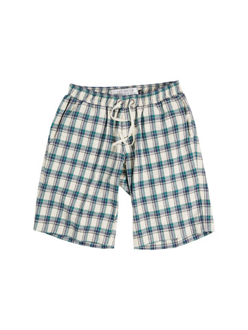 PLAID WALK SHORT