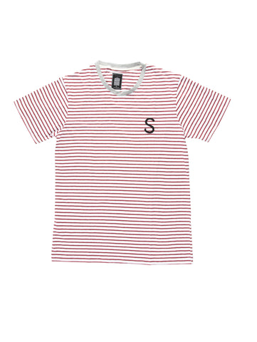 Red Stripe Rife Marco Tee