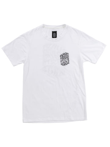 White Drum Print T-shirt