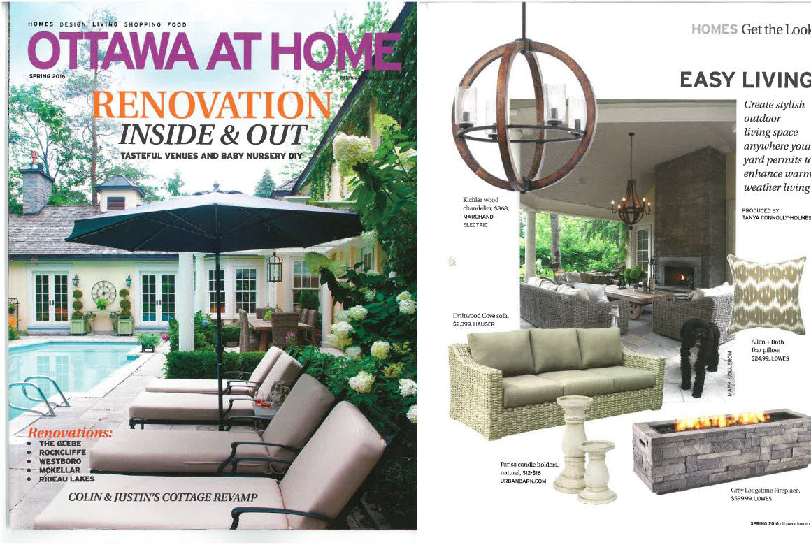 Hauser Featured in Ottawa At Home Spring 2016 - Hauser Stores
