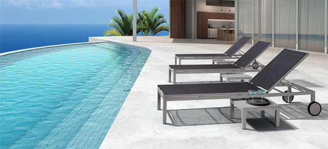 Outdoor chaise lounges high quality outdoor and casual for Chaise longue toronto