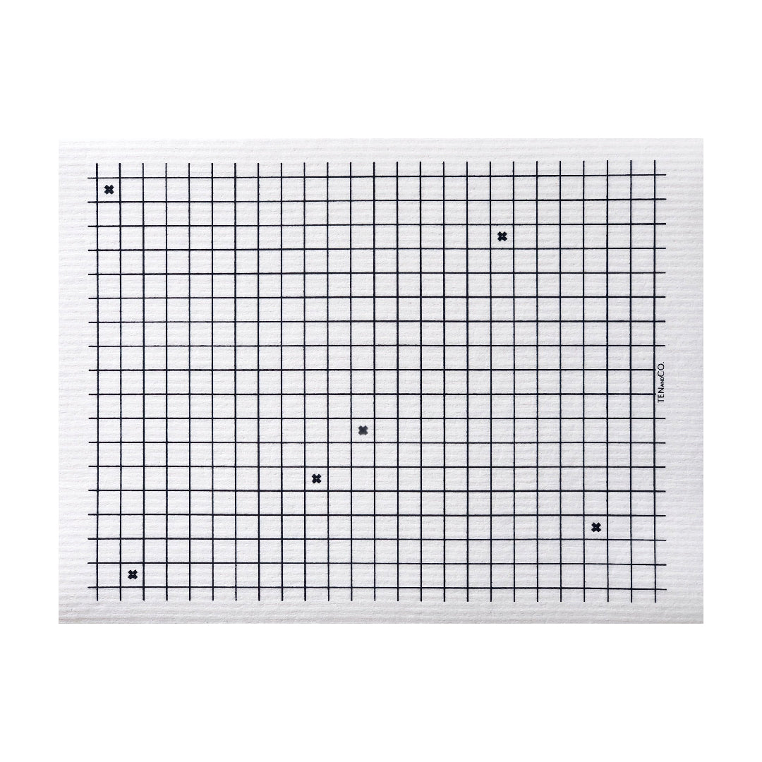 XL Graph Sponge Cloth Mat