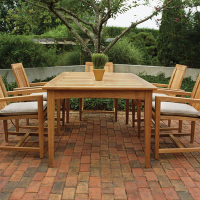 "Kingsley Bate Amalfi 38""x73"" Dining Table"