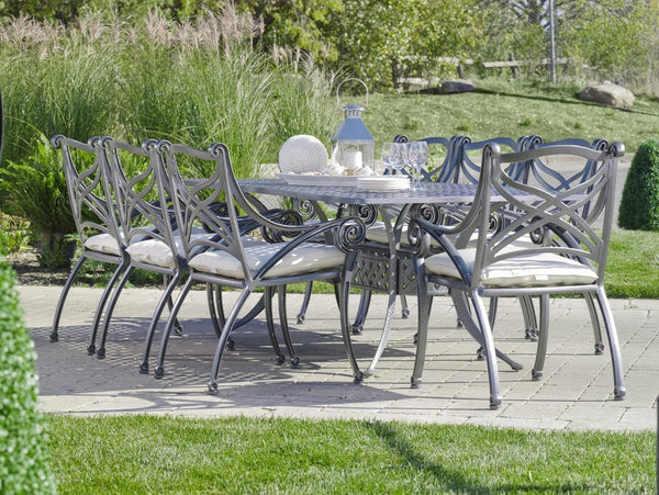 Basketweave Dining Table Hauser Stores