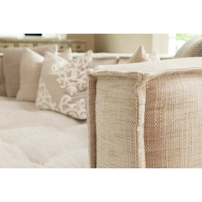 Sectional LAF Sofa Corner RAF Chaise - Brio Poratti Natural