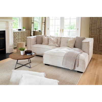 Sectional LAF Sofa Corner RAF Chaise - Brio Natural