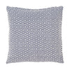 Crystal Navy White Indoor/Outdoor Pillow