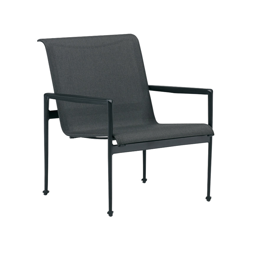 Kensington Club Chair - Graphite with Caviar Frame