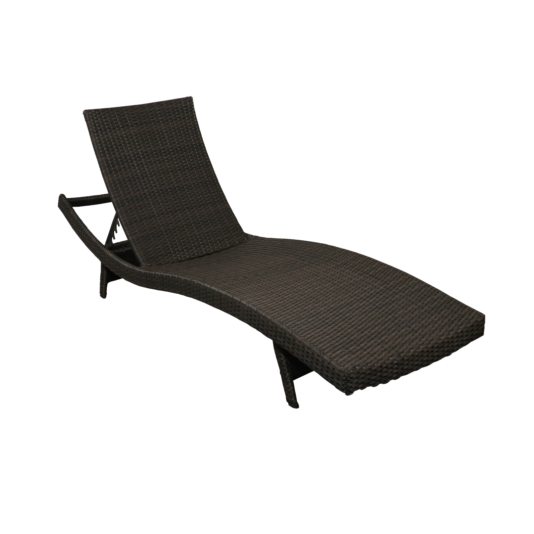 Stacking Wicker Chaise