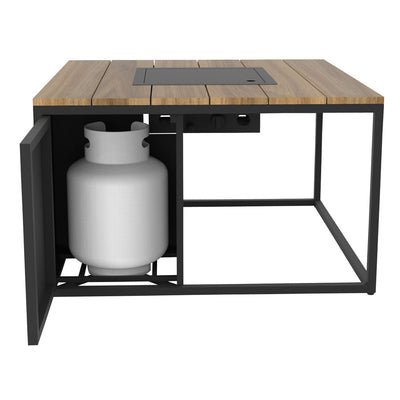 Firepit Table Square 39""