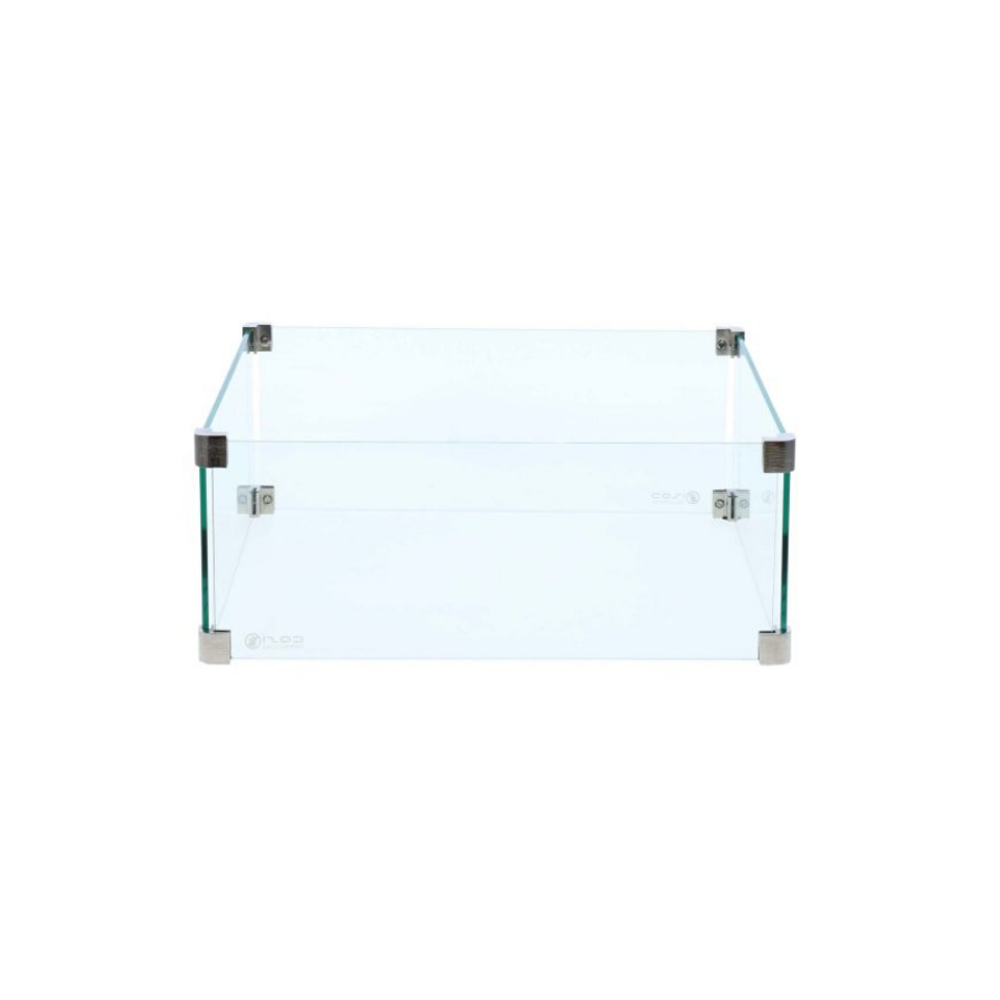 Glass Fire Shield