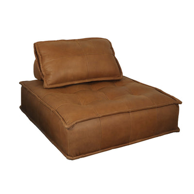 Brio Lounge Chair - Cognac Leather