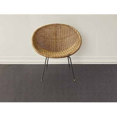 Chilewich Woven Strike Rug - Black