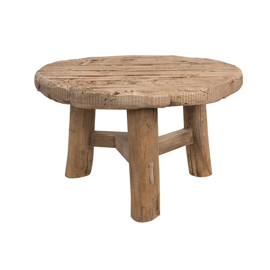 Joshua Wheel Coffee Table