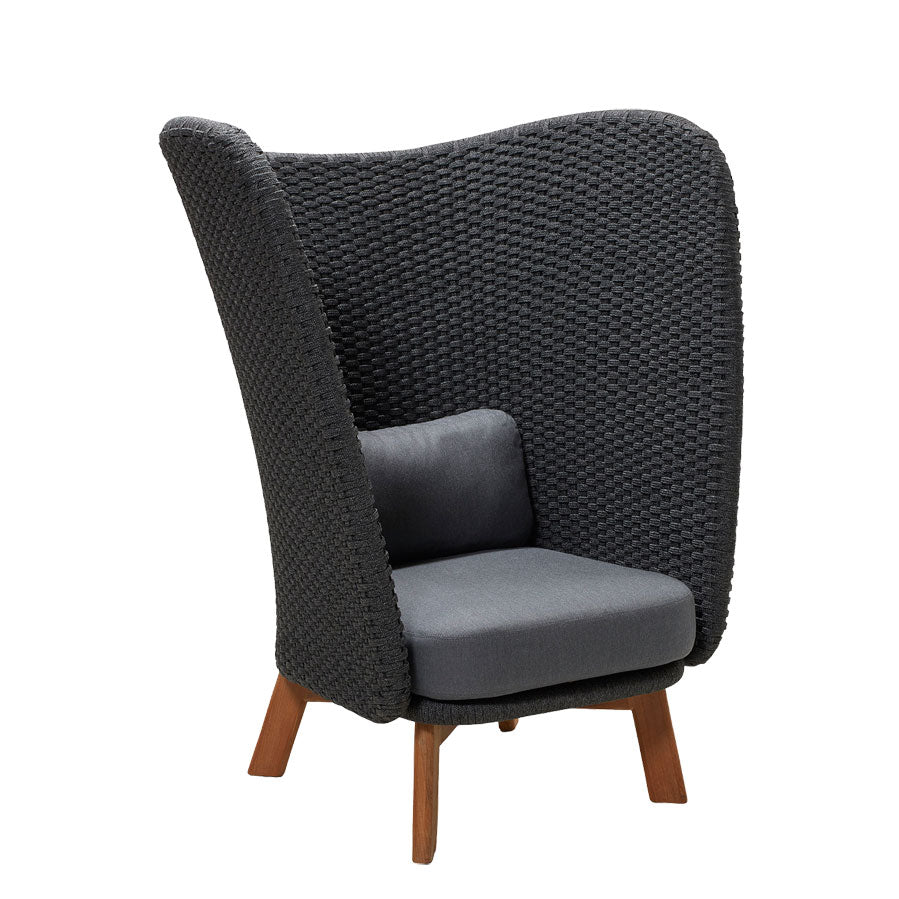 Peacock Highback Chair