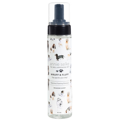 Wruff & Fluff Meadow Waterless Foaming Shampoo