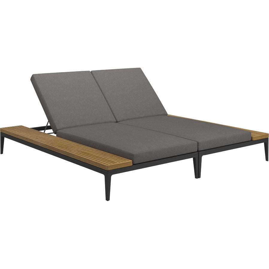 Gloster Grid Double Chaise Lounge