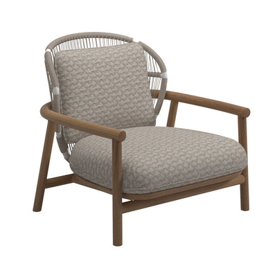 Gloster Fern Low Back Lounge Chair - Dove