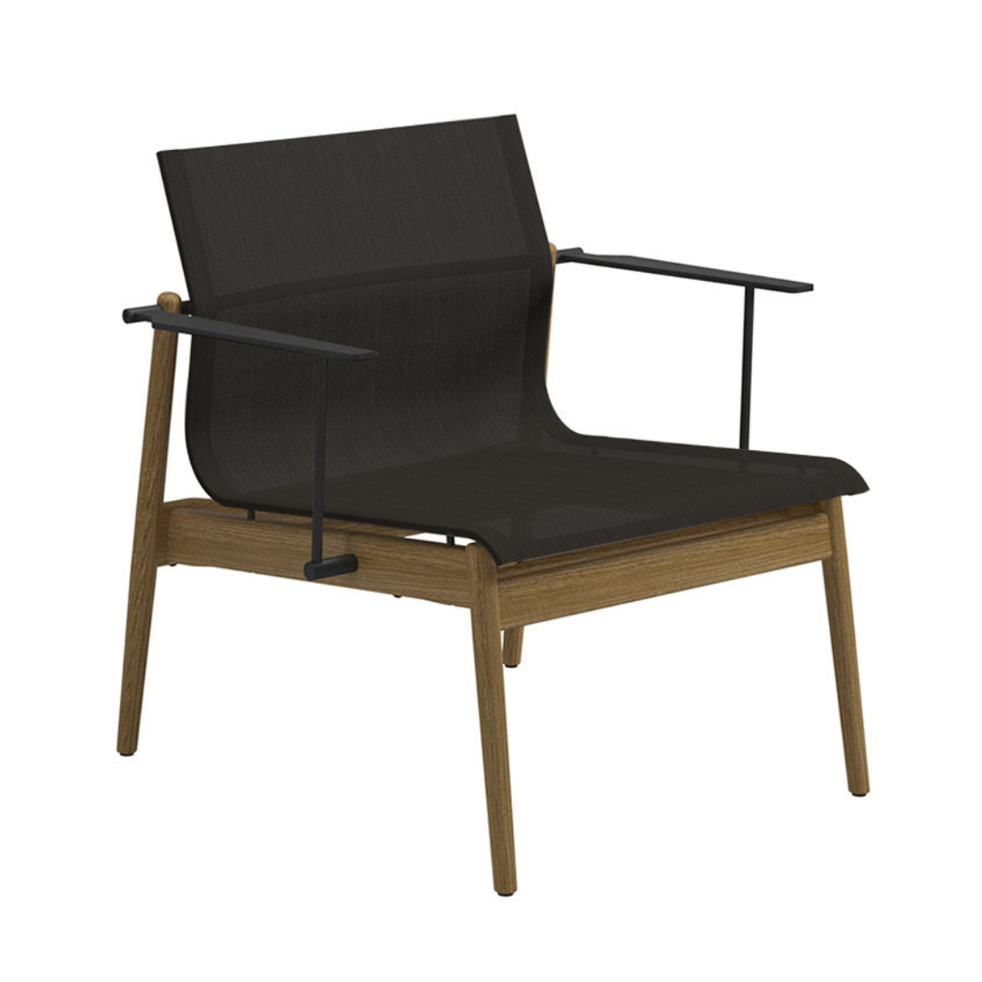 Gloster Sway Lounge Chair - Anthrcite