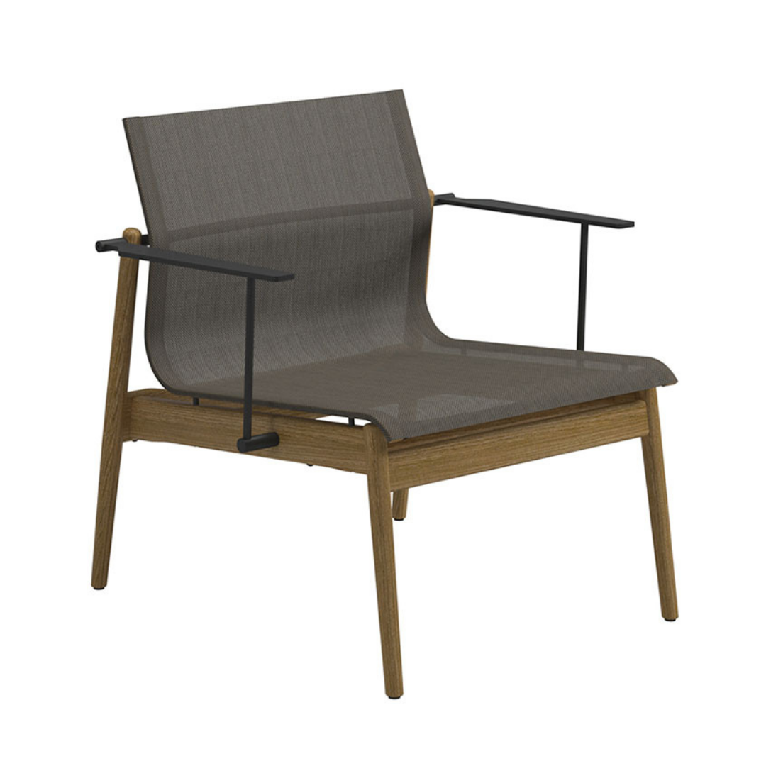 Gloster Sway Lounge Chair - Granite