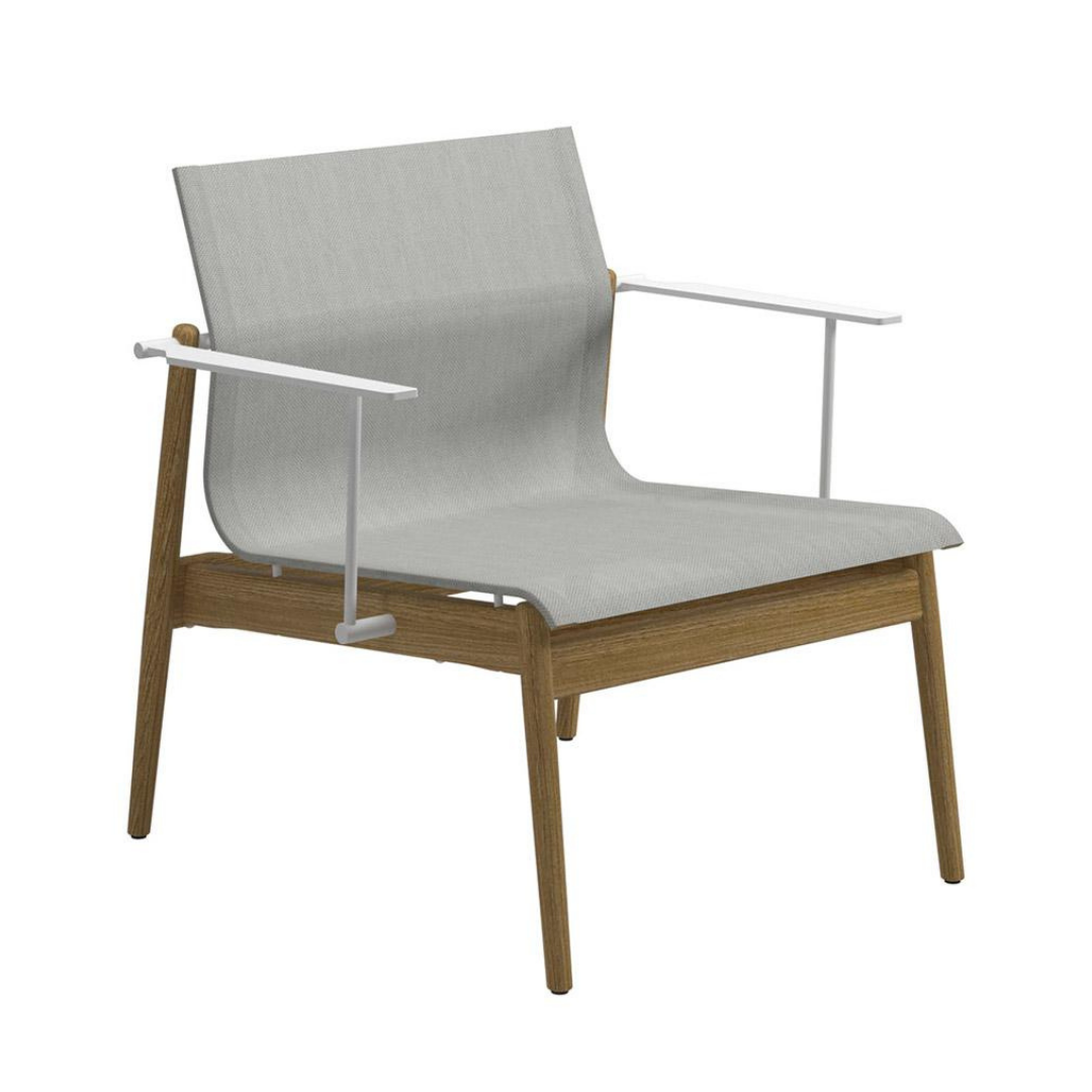 Gloster Sway Lounge Chair - White