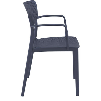 Ora Arm Chair - Dark Grey
