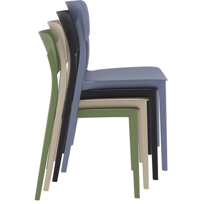 Ora Side Chair - Black