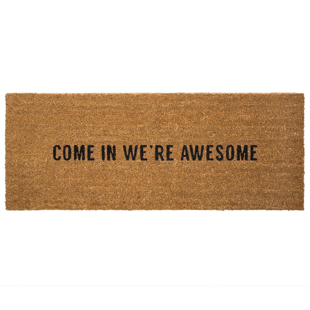 We're Awesome Doormat