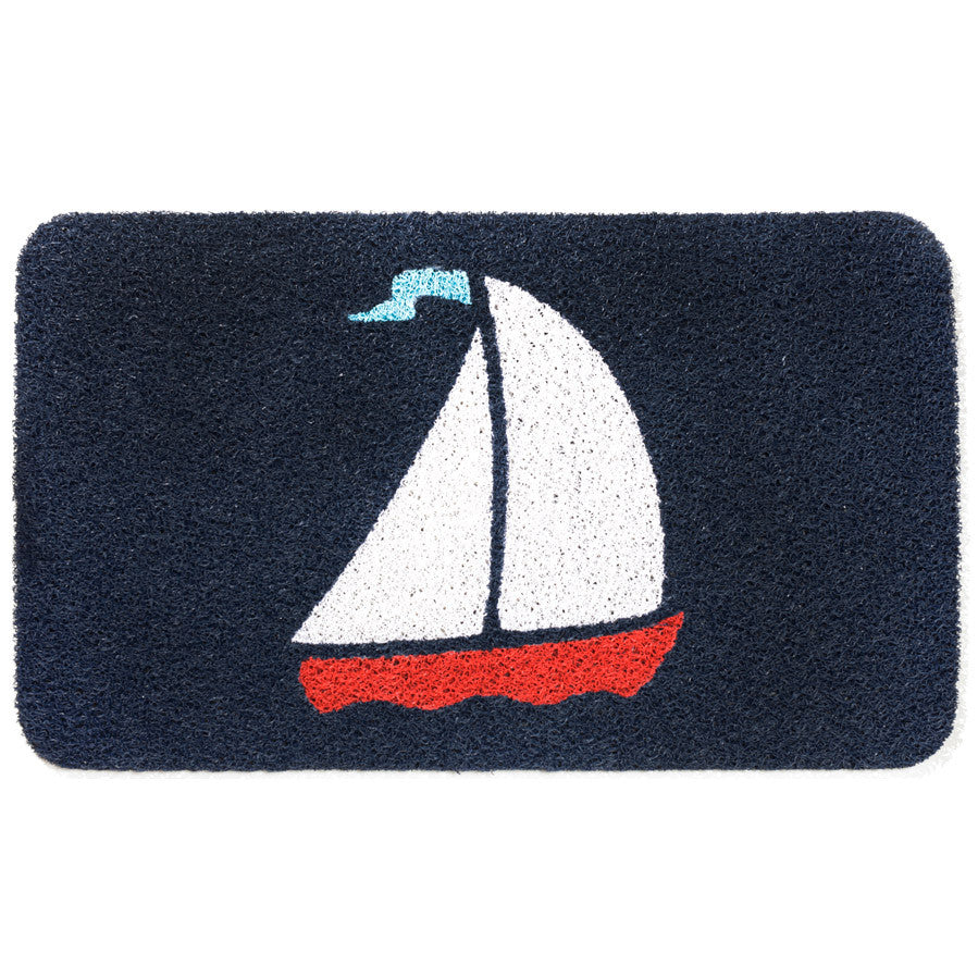 Door Mat - Sailboat