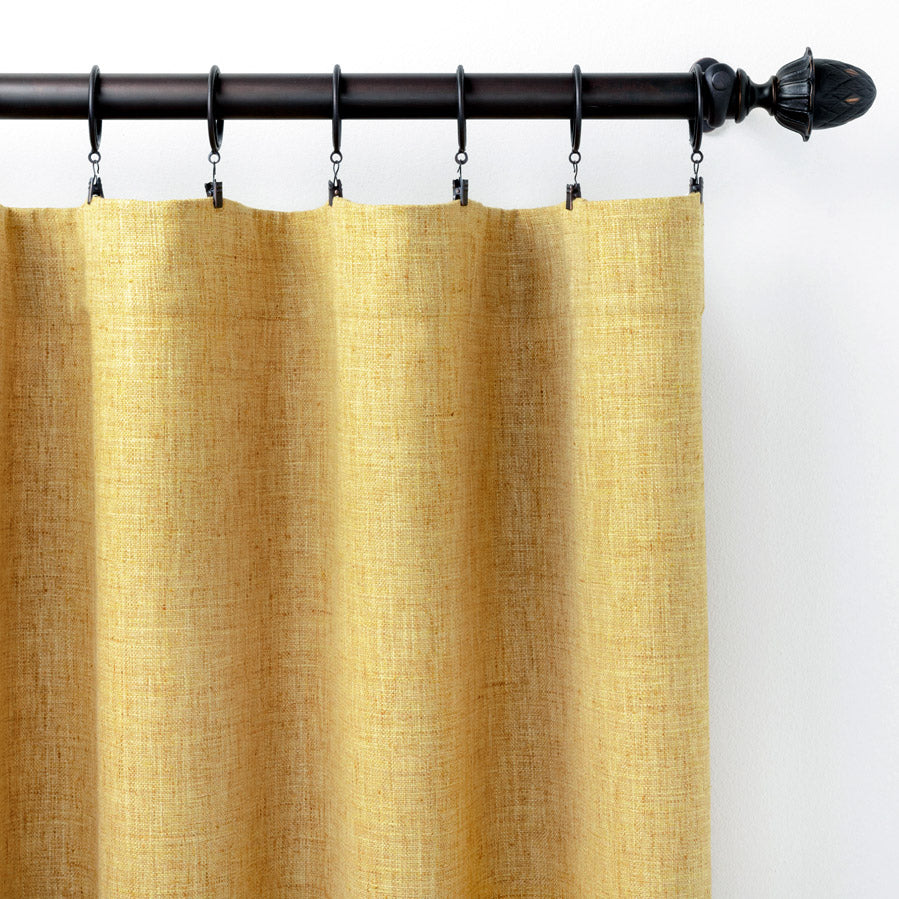 Pine Cone Hill Greylock Gold Curtain Panel